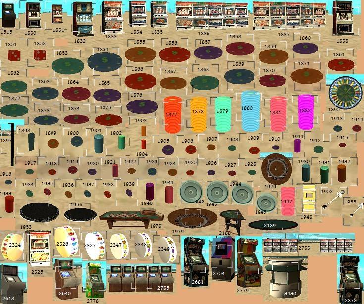 Ид объектов в казино игровые автоматы онлайн манки